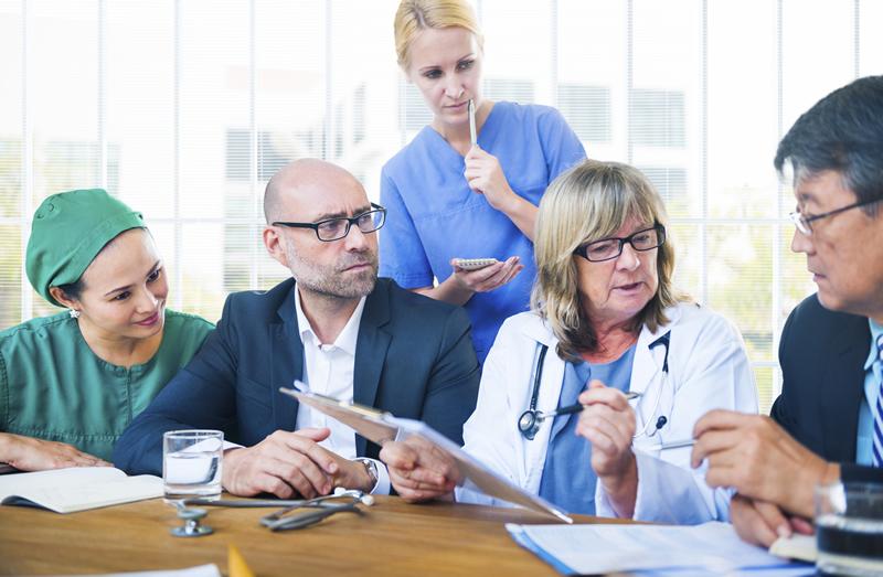 Entscheider Gesundheitsentssektor
