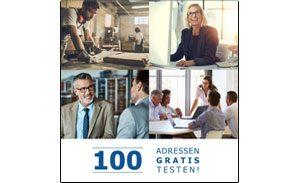 100 Musteradressen interfon, Marketingadressen, Neukunden